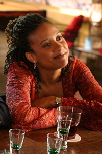 Mahandra McGinty played by Tracie Thoms
